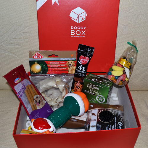 doggybox de d cembre le coffret cadeau pour chien avoir pour no l. Black Bedroom Furniture Sets. Home Design Ideas