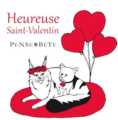 Carte Saint Valentin Pense Bête