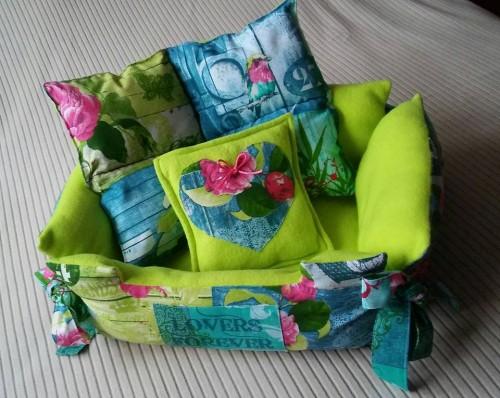 4 pattes et cr ations panier dodo pour chien et chat. Black Bedroom Furniture Sets. Home Design Ideas